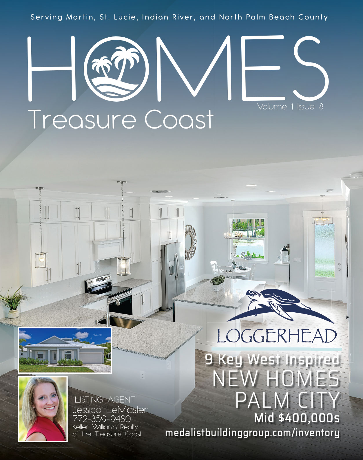 Homes - Treasure Coast cover Jessica LeMaster